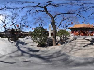 北京—西城广济寺大雄殿全景
