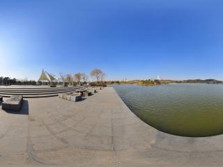 江阴黄山湖公园全景一全景