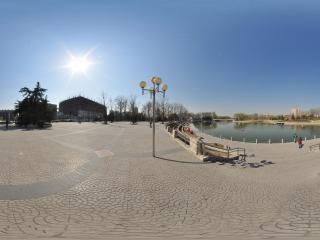 红领巾公园全景