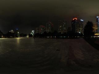 广东—广州中信广场夜景全景