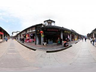 四川—成都洛帶古鎮西域风情全景