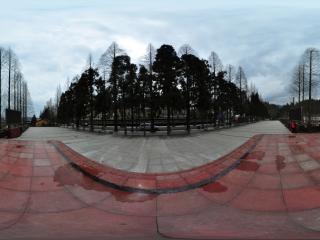 井冈山—红歌广场全景