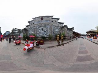 四川—成都洛帶古鎮万寿宫全景