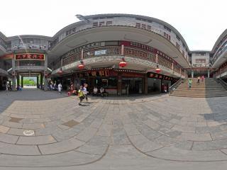 湖南—湘西凤凰古城天下宏兴堂全景