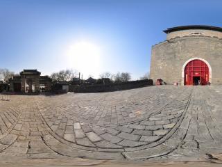 北京—海淀钟楼全景