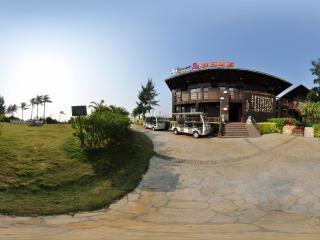广西—北海银滩古厘岛假日酒店全景