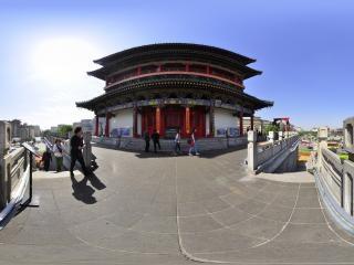 西安钟楼虚拟旅游