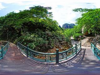 北京—京东石林峡风景区—一木千钧全景