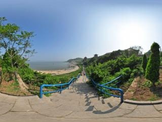 觉华岛全景