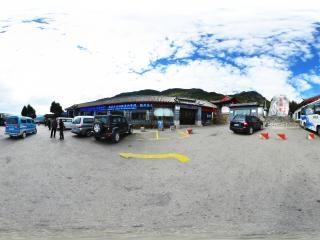 云南—丽江玉水寨景区入口全景