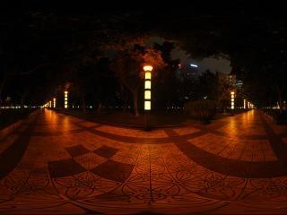 广东—广州中信广场夜景全景五全景