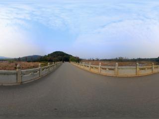 湖北—武汉马鞍山森林公园太渔桥上