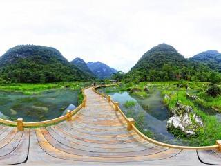 贵州—黔南小七孔翠谷湿地