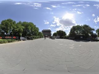 北京—西城鼓楼全景二全景