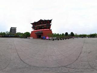 四川—成都洛帶古鎮五凤楼全景