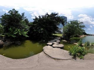 广东—深圳荔枝公园全景一