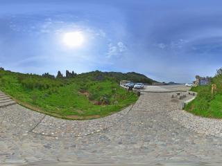 板壁岩石碑全景
