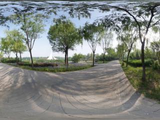 山西—长治人民公园全景