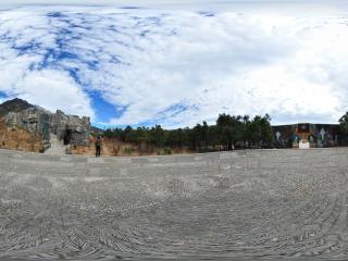 东巴灵洞全景