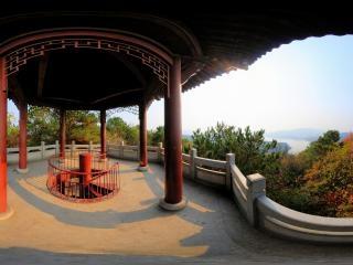 湖北—武汉马鞍山森林公园涵虚亭上