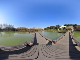 江阴黄山湖公园全景二