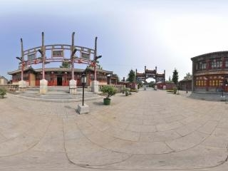 老北京风情园全景