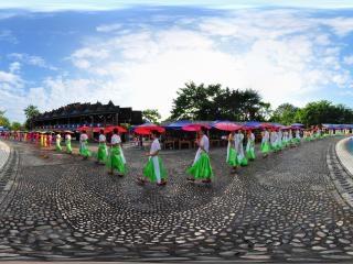 傣族舞表演