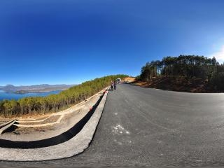 泸沽湖全景