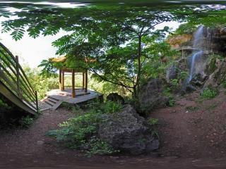 滴水湖全景