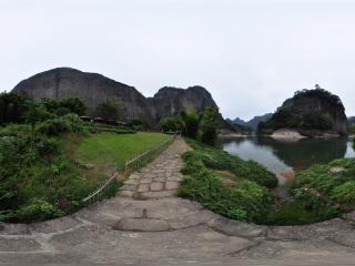 九曲溪漂流虚拟旅游