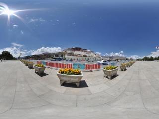 布达拉宫全景
