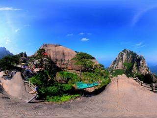 黄山风景区虚拟旅游