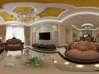 四川—泸州家庭客厅展示全景