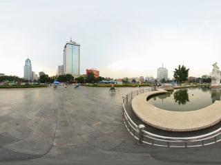 五一广场全景