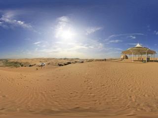 响沙湾全景