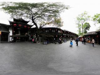 锦里景区虚拟旅游