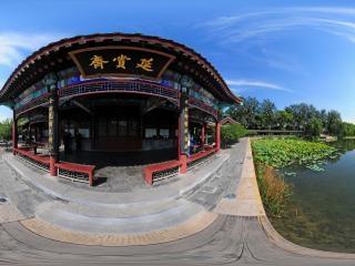 北京—海淀颐和园内延赏斋