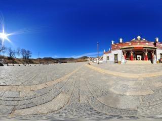 松赞林寺入口