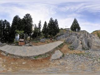 湖北—恩施大峡谷楼门石浪