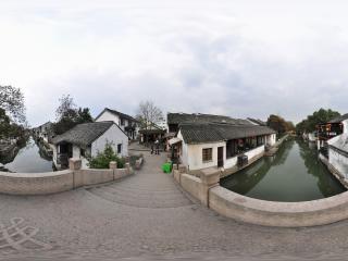 庆普桥全景