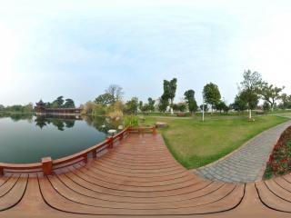 橘子洲公园—公园湖边