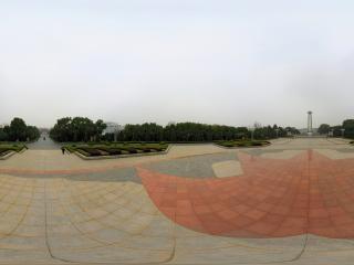 湖北省—黄冈黄麻起义纪念馆纪念园广场