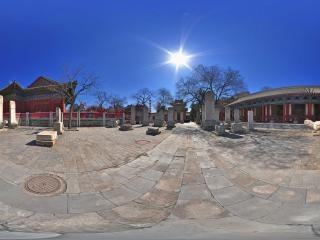 东岳庙碑林全景