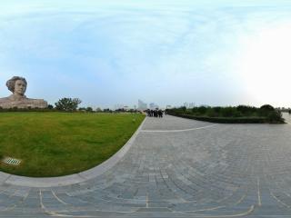 公园广场全景