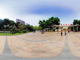 广东—广州流花湖公园正门