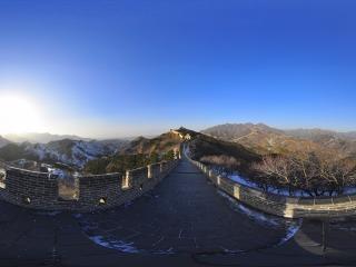 八达岭长城全景