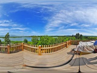 野鸭湖全景