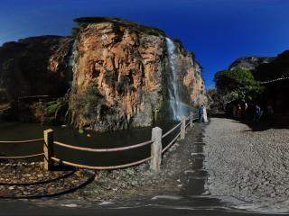 观音峡瀑布