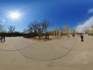 北京国际雕塑园全景