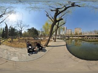 团结湖公园虚拟旅游